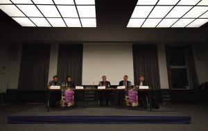 Roundtable auf der Konferenz Norms in Conflict (Frankfurt)