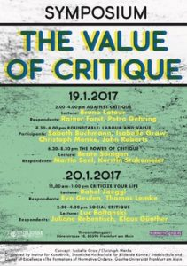 Value of Critique